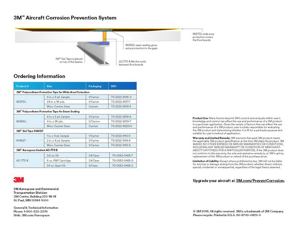 Aircraft Corrosion Prevention System